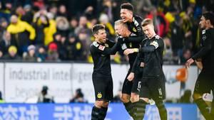 Bundesliga - 18. Spieltag - Samstagsspiele