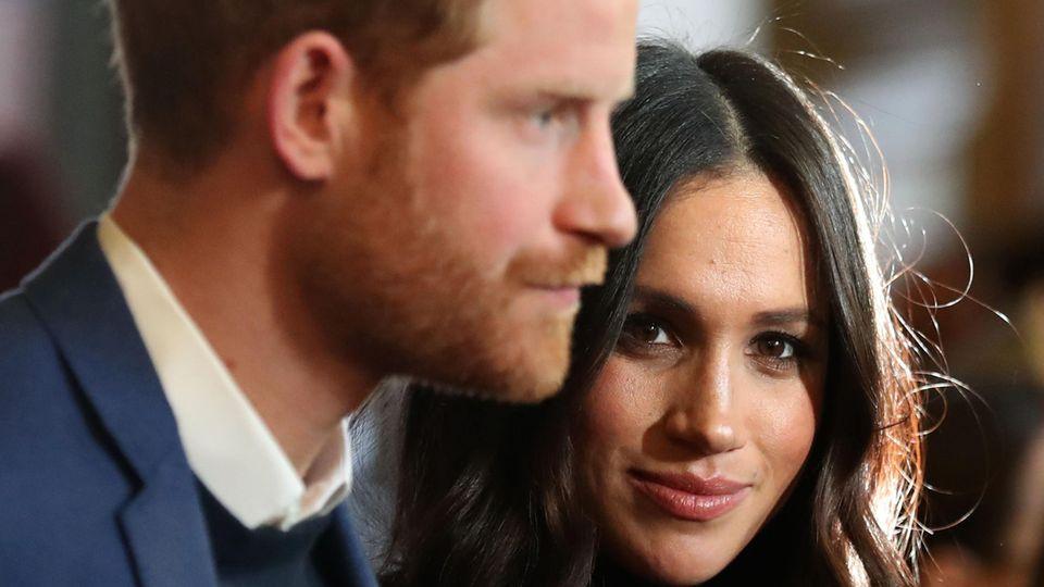 Prinz Harry und seine Frau Meghan