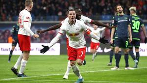 Marcel Sabitzer dreht das Spiel für RB Leipzig gegen Union Berlin