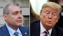 Lev Parnas wird für Donald Trump zunehmend zu einem Problem