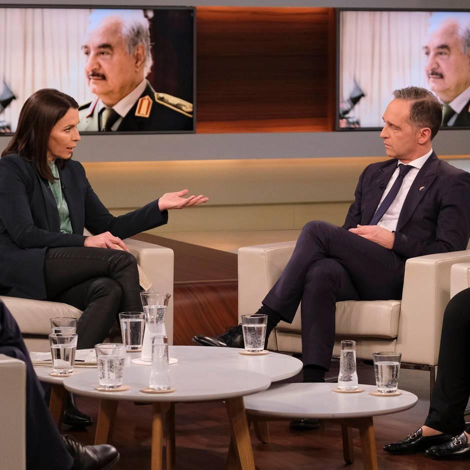 """""""Anne Will"""": """"So weit waren wir noch nie"""": Müder Maas preist Ergebnis der Libyen-Konferenz"""