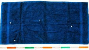 Haare am Handtuch
