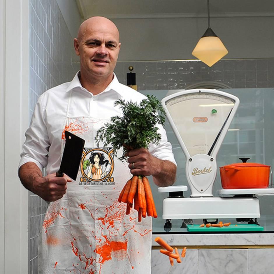 """""""The Vegetarian Butcher"""": Dieser Metzger verkauft kein Fleisch – dafür hat er mit vegetarischen Alternativen großen Erfolg"""