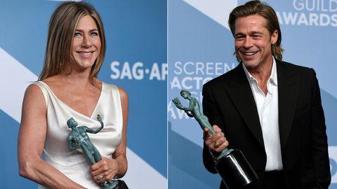 """SAG-Awards: Brad Pitt – """"Muss ich meinem Tinder-Profil hinzufügen"""""""