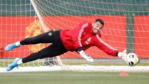 Sergio Romero, Torwart von Manchester United