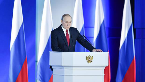 Wladimir Putin will in der russischen Verfassung die Amtszeiten des Präsidenten auf maximal zwei beschränken
