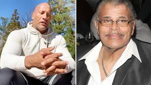 """Dwayne """"The Rock"""" Johnson teilt emotionale Rede über seinen verstorbenen Vater"""