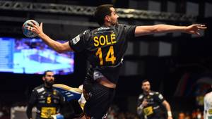 Ferran Sole, spanischer Handballer bei der EM