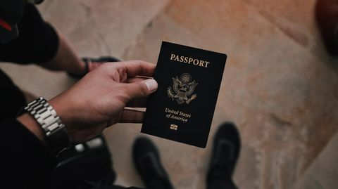 US-amerikanischer Reisespass