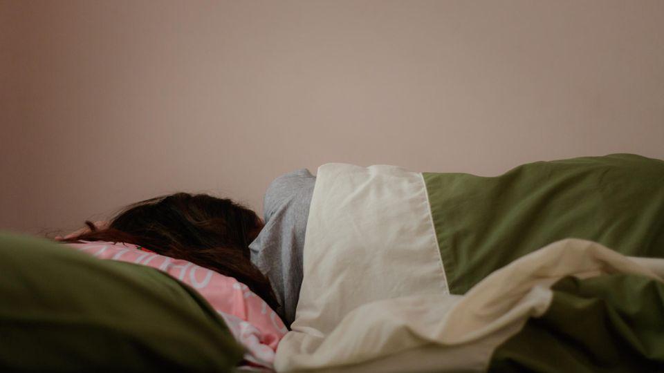 Kind schläft