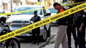 Ein Tatort in Guadalajara, Mexiko