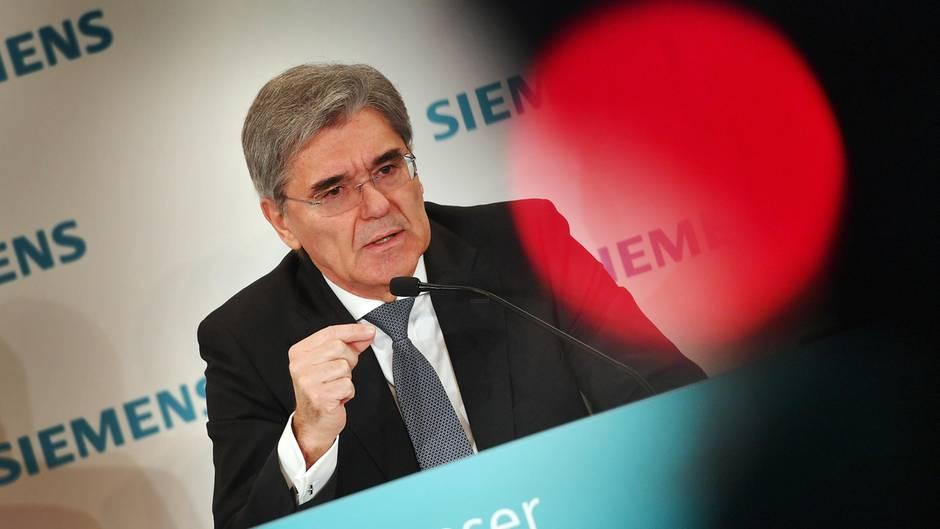 Siemens' Vorstandsvorsitzender Joe Kaeser