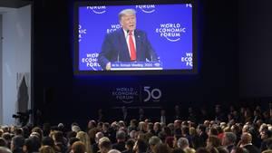 Die Rede von US-Präsident Donald Trump dürfte so einige im Publikum irritiert haben