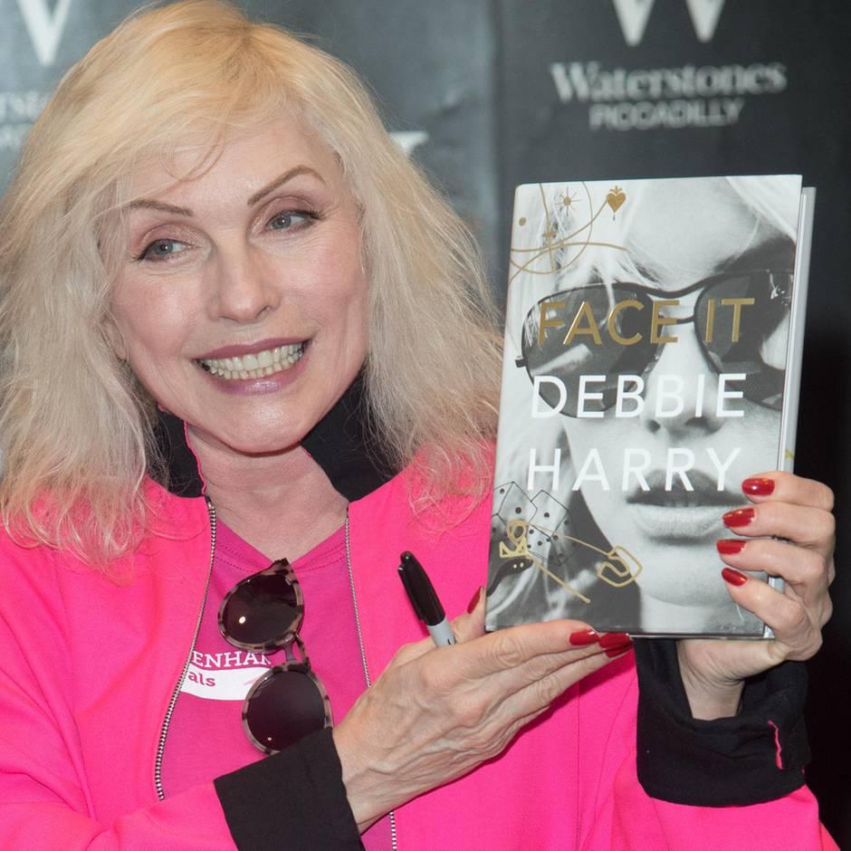 """Autobiografie """"Face it"""": Blondie-Sängerin Debbie Harry: """"Wenn ich etwas machen will, darf mir niemand dazwischenfunken"""""""