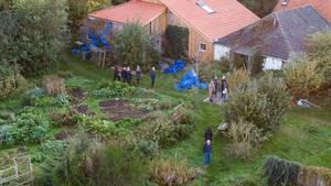 Luftbild des Bauernhofes in Ruinerwold