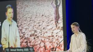 Greta Thunberg liest Managern und Politikerin in Davos die Leviten