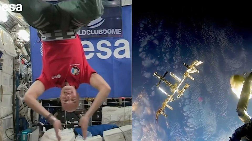 ESA-Astronaut Luca Parmitano