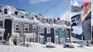 Kanada versinkt im Schnee