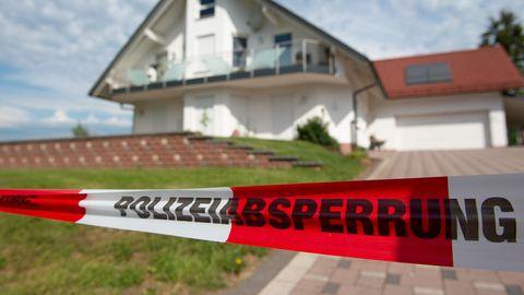 Das Haus des ermordeten Kasseler Regierungspräsidenten Lübcke
