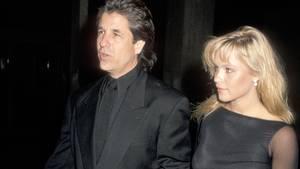 Jon Peters und Pamela Anderson