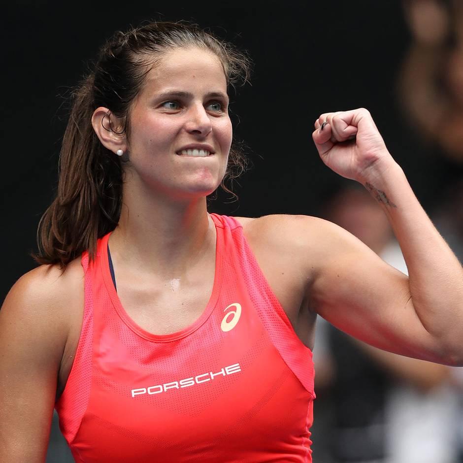 Sport kompakt: Julia Görges ist eine Runde weiter, Kohlschreiber muss aufgeben