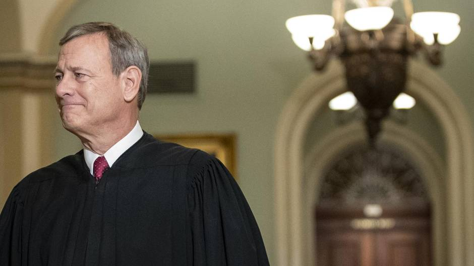 John Roberts Leiter des Impeachment-Verfahrens gegen Donald Trump