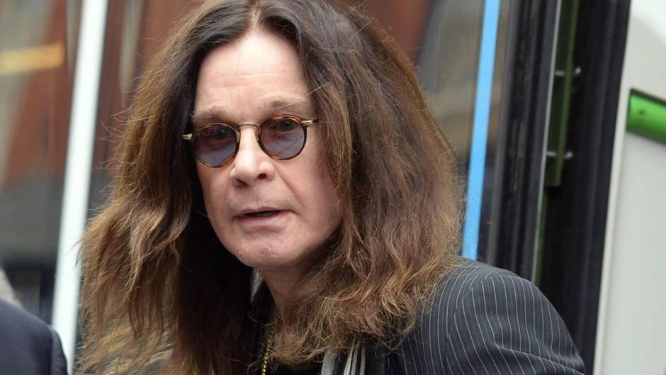 Der Sänger Ozzy Osbourne