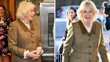 Camilla äußert sich vor Reportern zum Rücktritt von Harry und Meghan