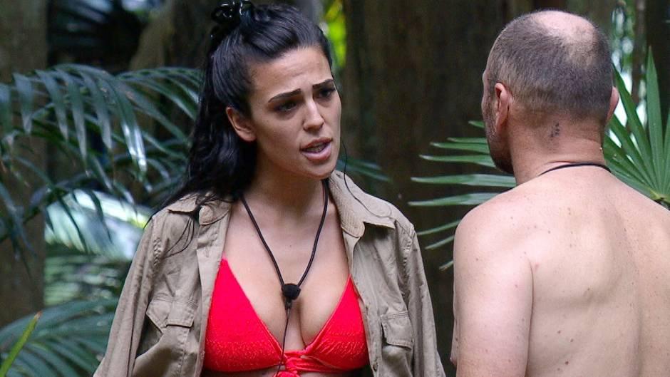 Dschungelcamp Tag 13: Der Zoff zwischen Elena und Sven eskaliert