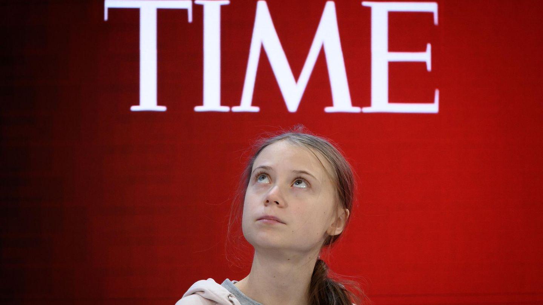 Greta Thunberg auf dem Weltwirtschaftsforum in Davos