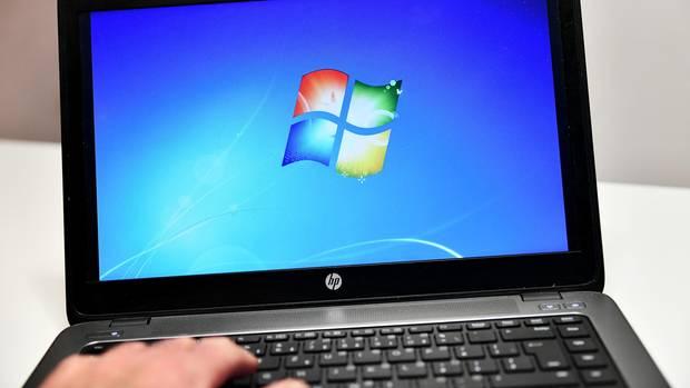 Auf vielen Computern in Bundesbehörden ist Windows 7 installiert.