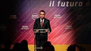 Italien, Rom: Luigi Die Maio, Außenminister von Italien