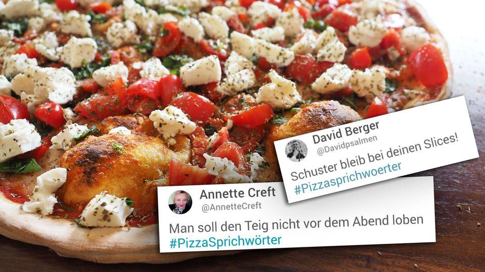Auf Twitter amüsieren sich viele User über Pizzasprichwörter