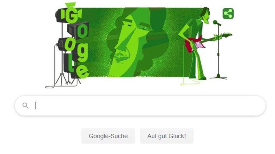 Alberto Luis Spinetta - Google Doodle zum Geburtstag