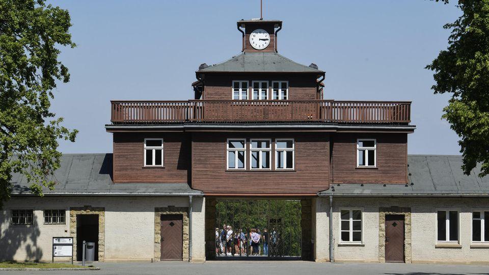 Das Eingangtor zur Gedenkstätte