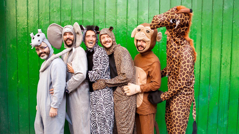 Zu Fasching gibt es viele lustige Kostüme