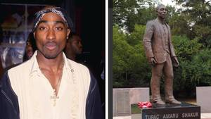 Tupac Shakur-Statue sorgt bei Fans für Unmut