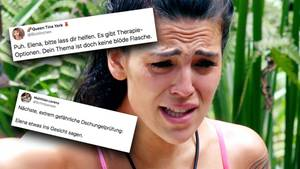 Im Dschungelcamp hat es zwischen Elena Miras und Sven Ottke erneut gekracht.