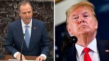 Impeachmentverfahren: Adam Schiff gegen Donald Trump