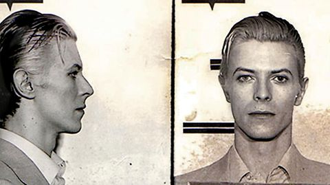 Music legend David Bowie was arrested in upstate New York in March 1976 on a felony pot possession charge. The Thin White Duke, 29 at the time, was nabbed along with Iggy Pop and two other codefendants at a Rochester hotel following a concert. Bowie was...