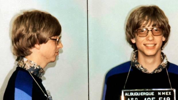 Bill Gates in Polizeigewahrsam