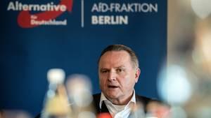 Der Berliner AfD-Landeschef Georg Pazderski