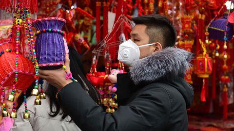 Das Coronavirus überschattet die Vorbereitung zu den Feierlichkeiten zum Neujahrsfest in China