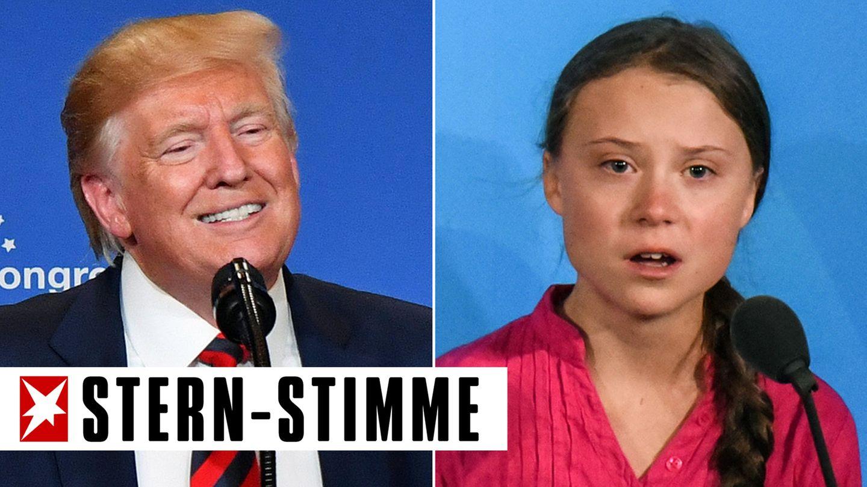 Donald Trump, Greta Thunberg
