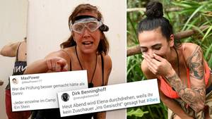 Dschungelcamp: Männertränen und Dannis Versagen – doch die Zuschauer fürchten sich vor Elena