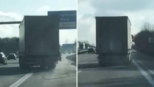 Betrunkener LKW-Fahrer auf der A9
