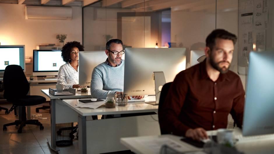 Vier Tage bis spät im Büro sitzen, um einen Tag mehr frei zu haben - viele würden das machen