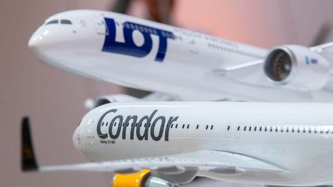 LOT hat im Bieterrennen um den deutschen Ferienflieger Condormehrere Finanzinvestoren ausgestochen