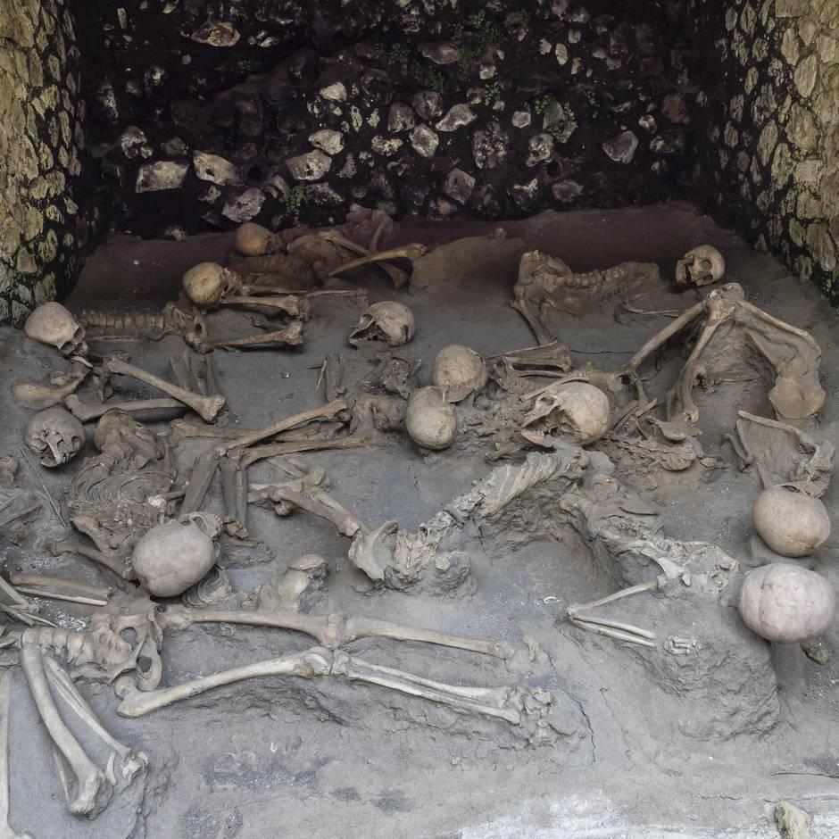 Vulkanausbruch 79 n. Chr. : Gehirn zu Glas erstarrt: Neue Studien enthüllen grausames Schicksal der Vesuv-Opfer