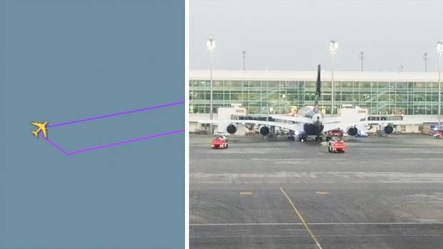 Lufthansa-Flugzeug muss mitten über dem Atlantik umkehren